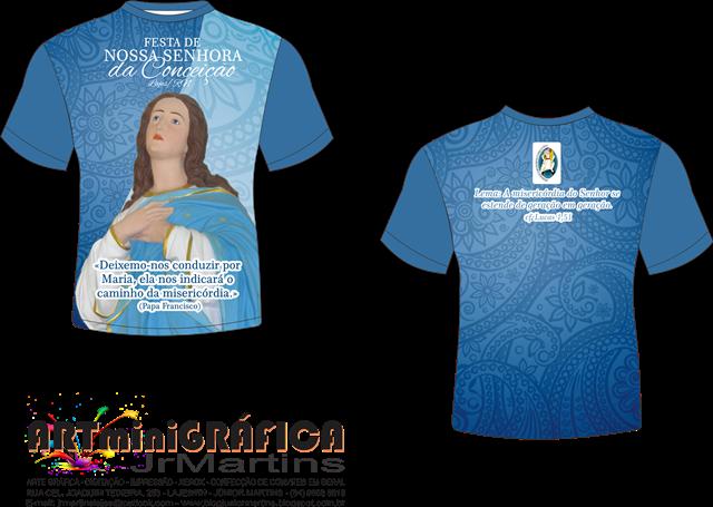 Nossa Senhora Aparecida Para Camisa: Blog A Voz Da Imaculada: Camisa Da Festa Da Padroeira 2015