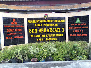 Program Kerja Ujian Akhir Semester Genap SDN Sekarjati 1 Kecamatan Karanganyar Kabupaten Ngawi Tahun Ajaran 2018/2019