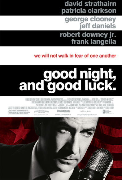 Good Night and Good Luck 2005 movie poster