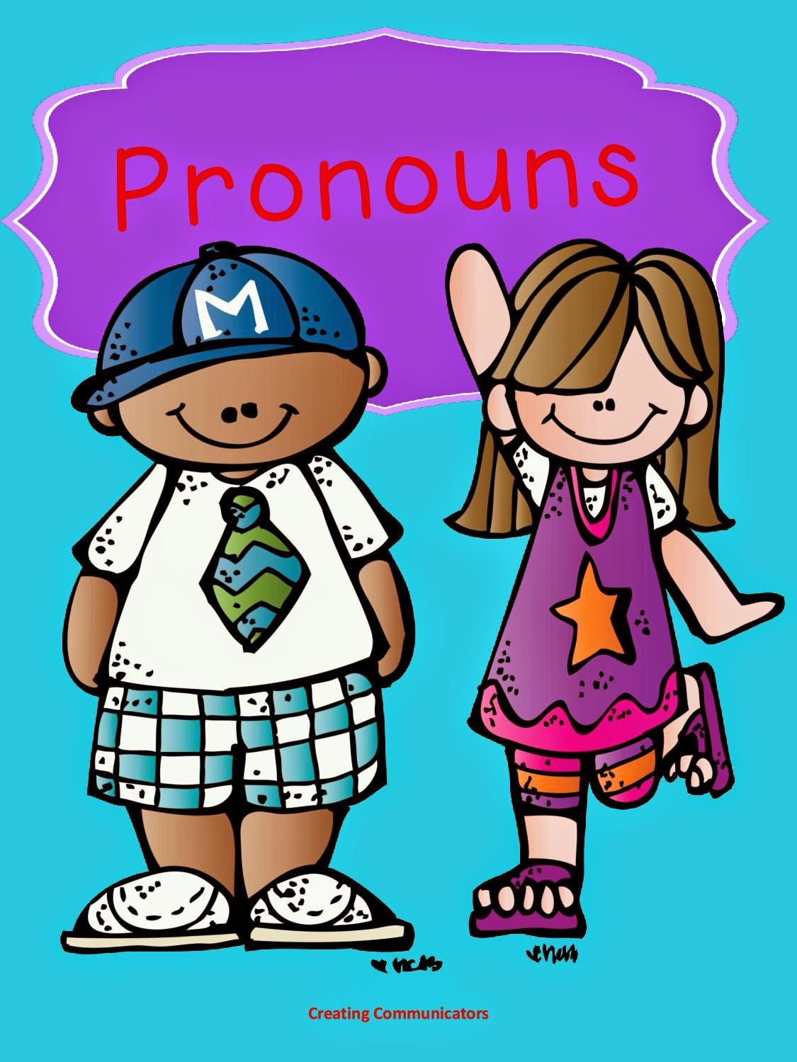 Creating Communicators Pronoun Favourites