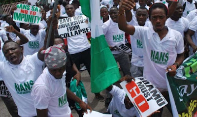 Image result for NANS threatens nationwide protest Monday over polls shift
