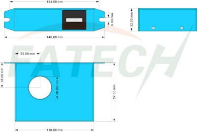 Jual FATECH Model : FLRC-S / II Monitoring Counter Sambaran Petir