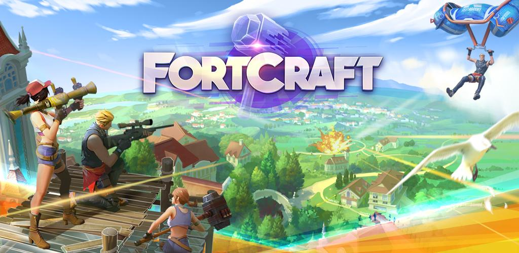 FortCraft APK + OBB   A Fortnite Mobile clone game for ...