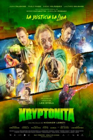 Kryptonita [2015] [DVDR] [NTSC] [Latino]