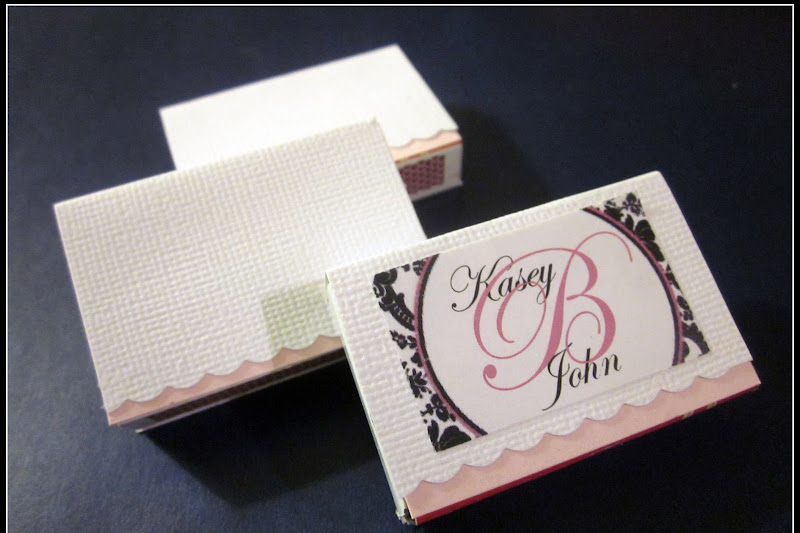Wedding Project ~ DIY Matches