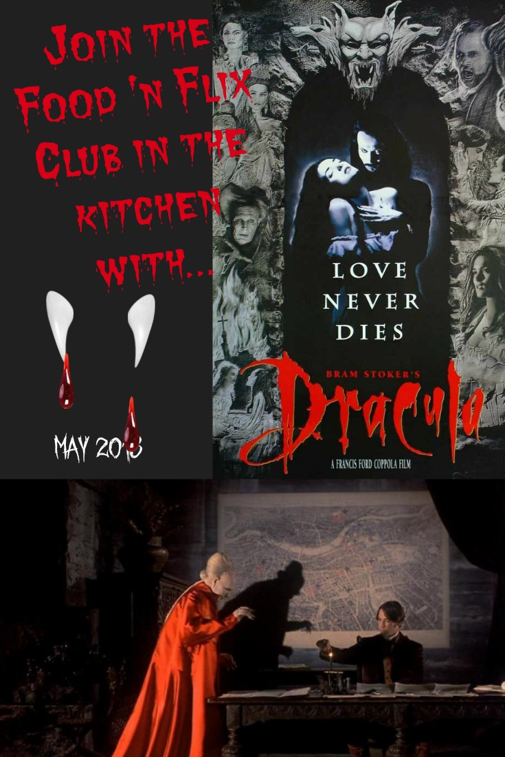 Recipes inspired by Dracula #FoodnFlix