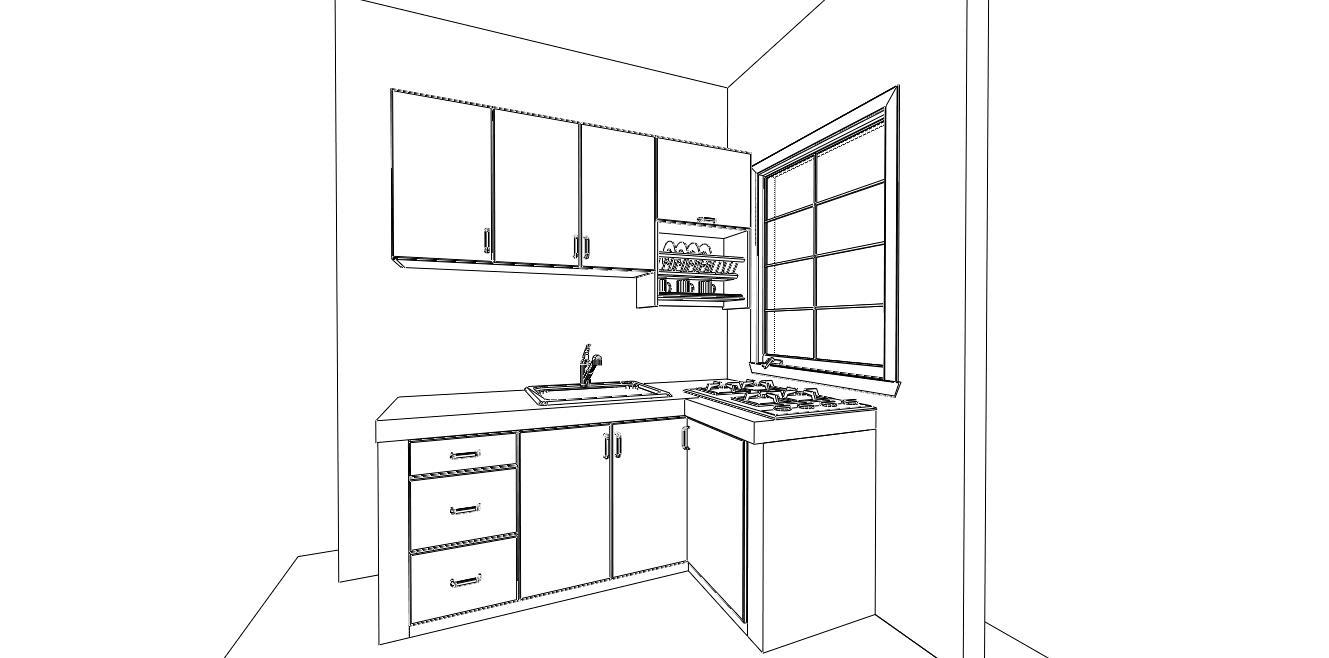 Kabinet dapur murah for Kitchen cabinet murah 2016