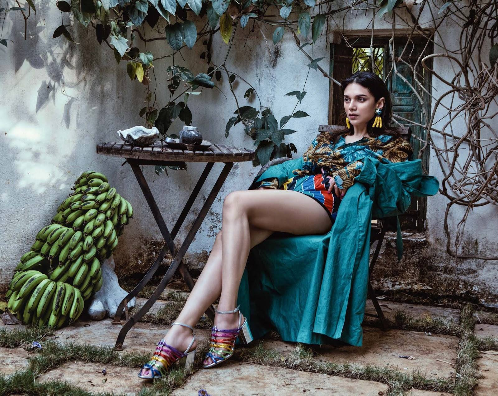 Vogue India May 2018 Aditi Rao Hydari by Errikos Andreou