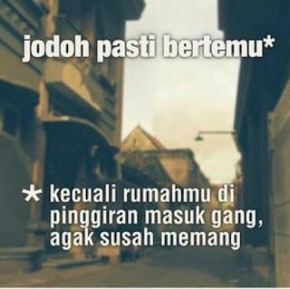 Gambar Foto DP  Jomblo Galau Sedih Lucu