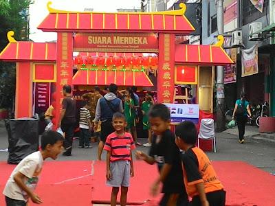 Menikmati Kuliner Plus Plus, Di Pasar Imlek Semawis Semarang