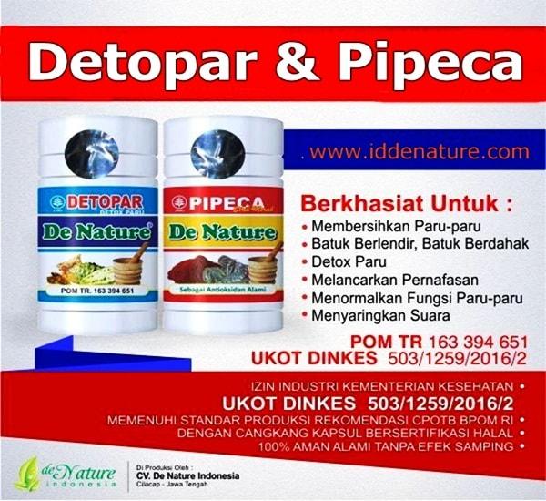 Obat Detox Paru (Membersihkan & Menormalkan) de Nature