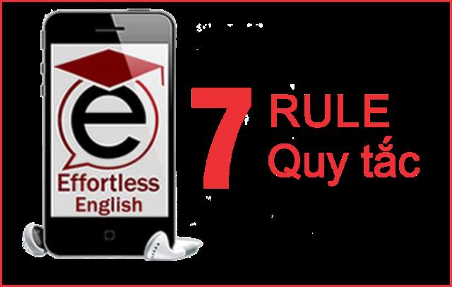 7 quy tắc học tiếng anh