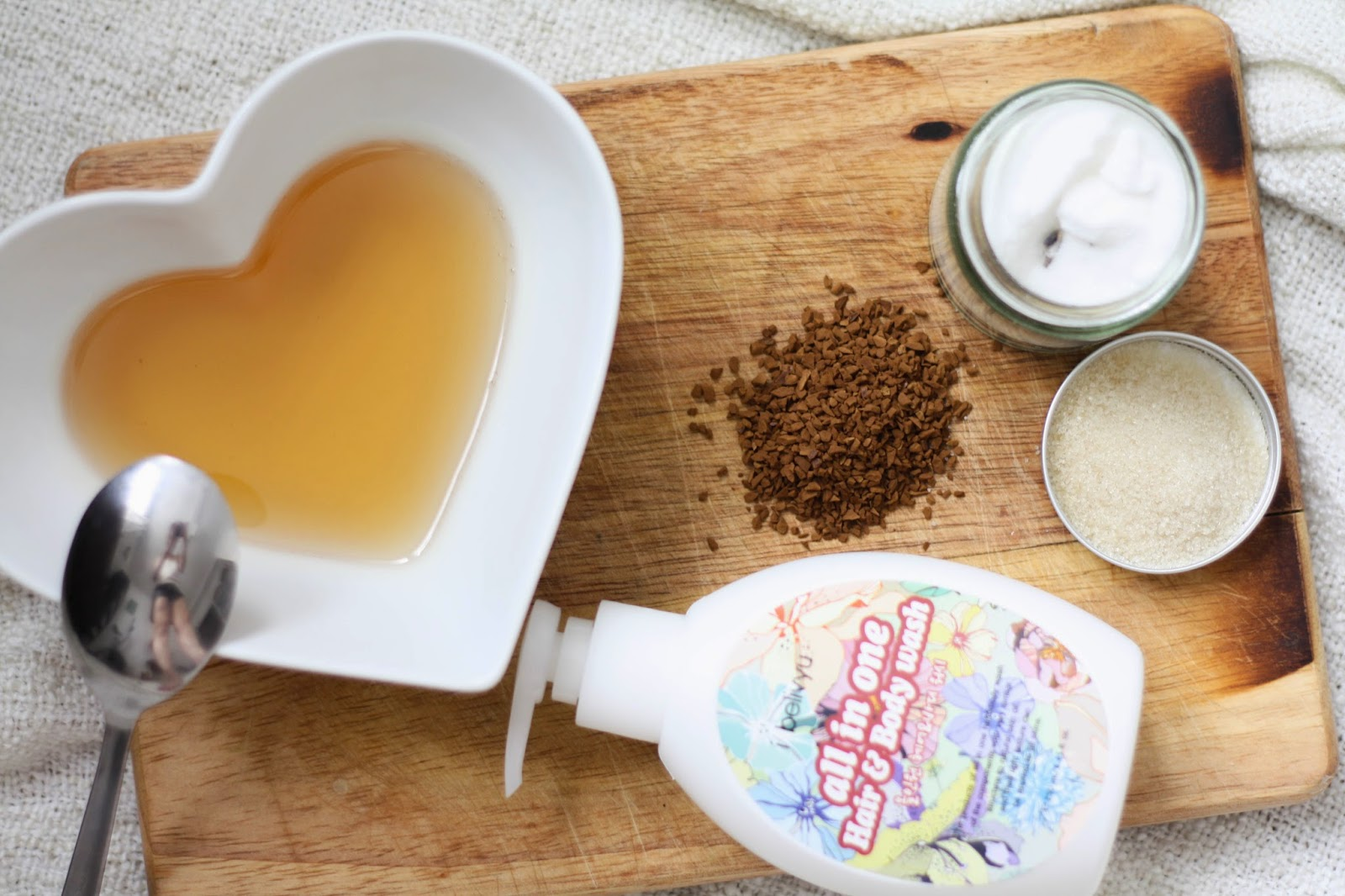 Homemade exfoliator recipe