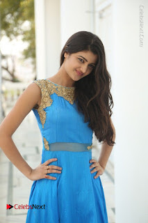 Telugu Actress Akshita (Pallavi Naidu) Latest Stills in Blue Long Dress at Inkenti Nuvve Cheppu Movie Promotions  0069.jpg