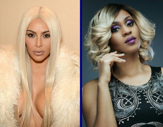 Kim Kardashian vs Munachi Abii: Who rocked the blonde hair better
