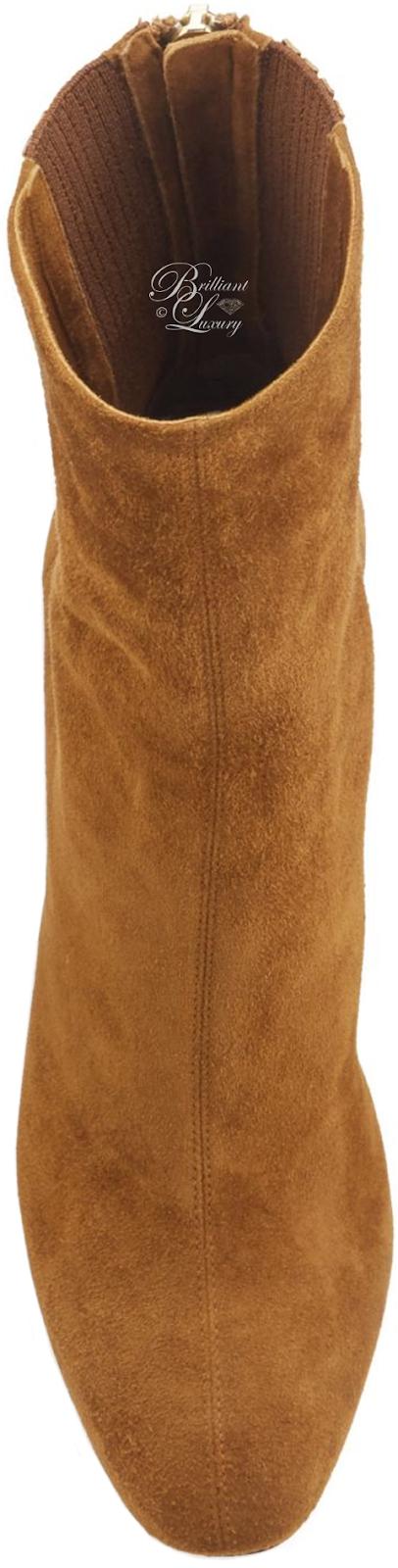Brilliant Luxury ♦ Aquazzura Saint Honoré Ankle Boots