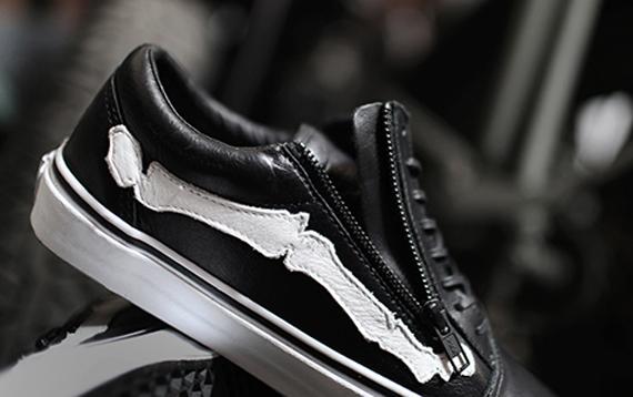 7e1fe465945d TODAYSHYPE  Blends x Vans Vault Old Skool Zip LX Bones