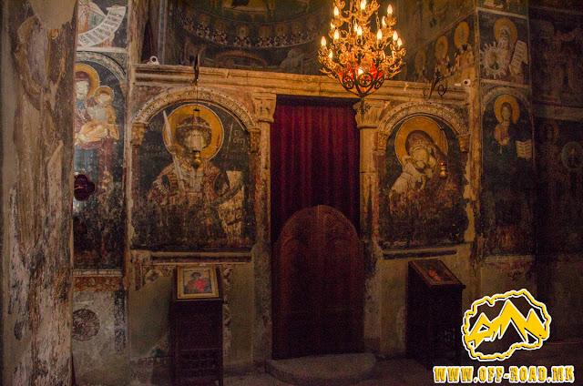 Interior - St. George church - Staro Nagorichane