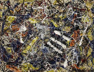World's ten most expensive paintings/Number 17A,  Jackson Pollock