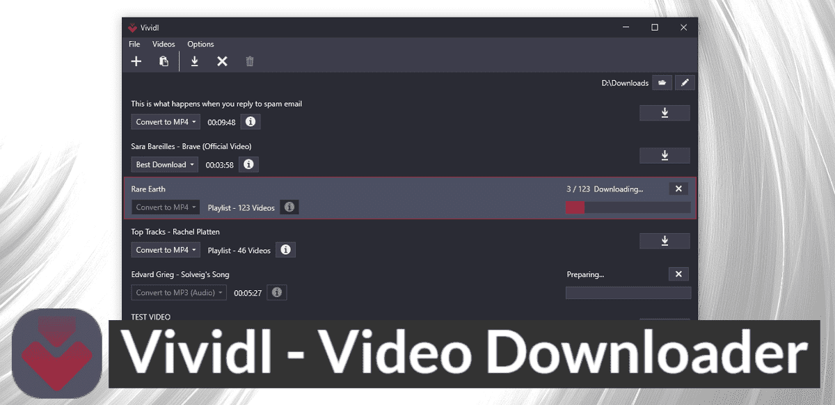 Vividl 免費網路影片下載軟體