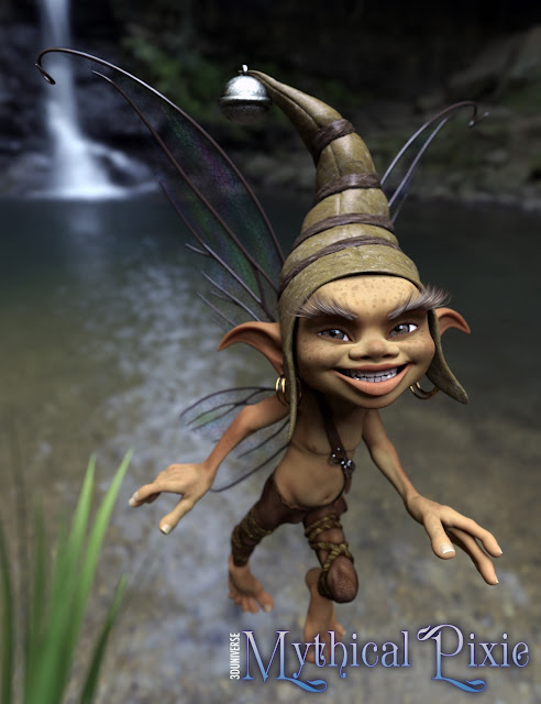 Mythical Pixie for Genesis 3 Male