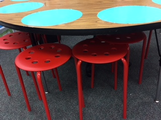 flexible seating guided reading stools