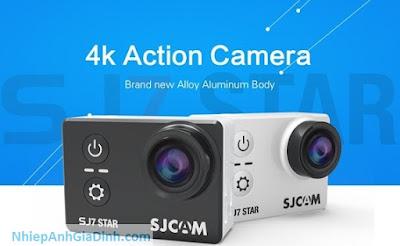 Camera hành trình SJCAM SJ7 Star 4K wifi