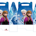 Frozen: Free Printable Lunch Box.