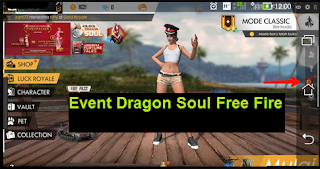 Event free fire Dragon soul free fire 2019