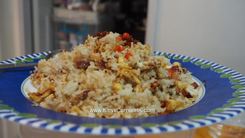 Simple Fried Rice DIY recipe 簡易炒飯自家食譜
