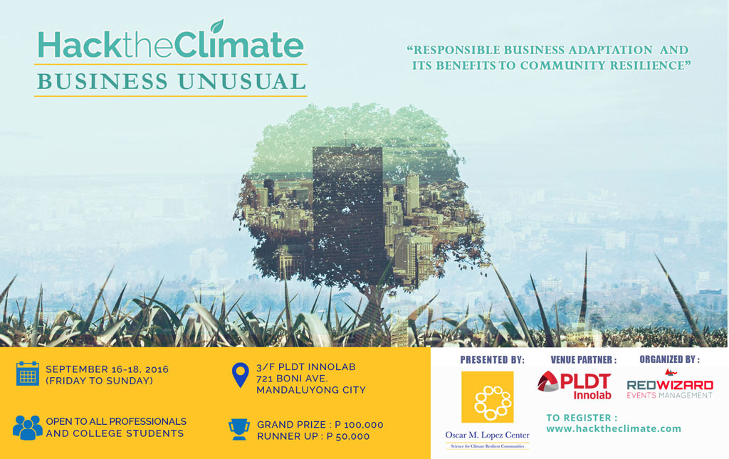 Hack the Climate 2016 Business Unusual
