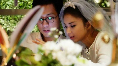 Foto Pernikahan Putri Titian dan Junior Liem