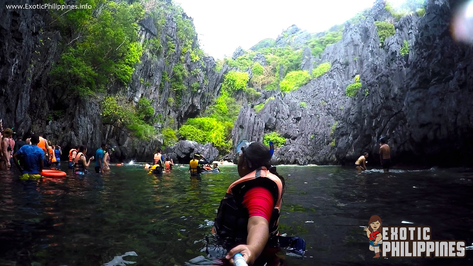 Secret Beach El Nido Palawan Exotic Philippines Travel Blogger Blog