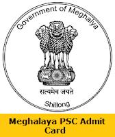 Meghalaya PSC Assistant Engineer Admit Card