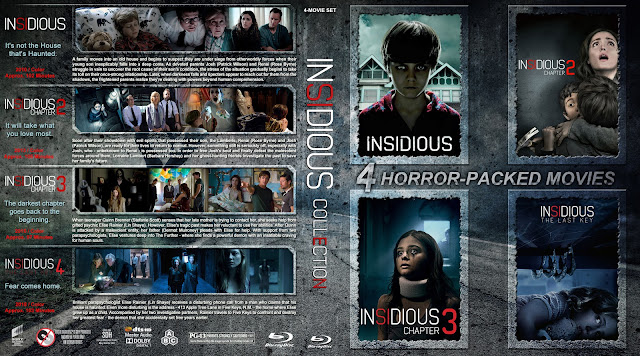 Insidious Collection Bluray Cover