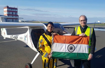 Aarohi Pandit First Woman to Cross Atlantic Ocean