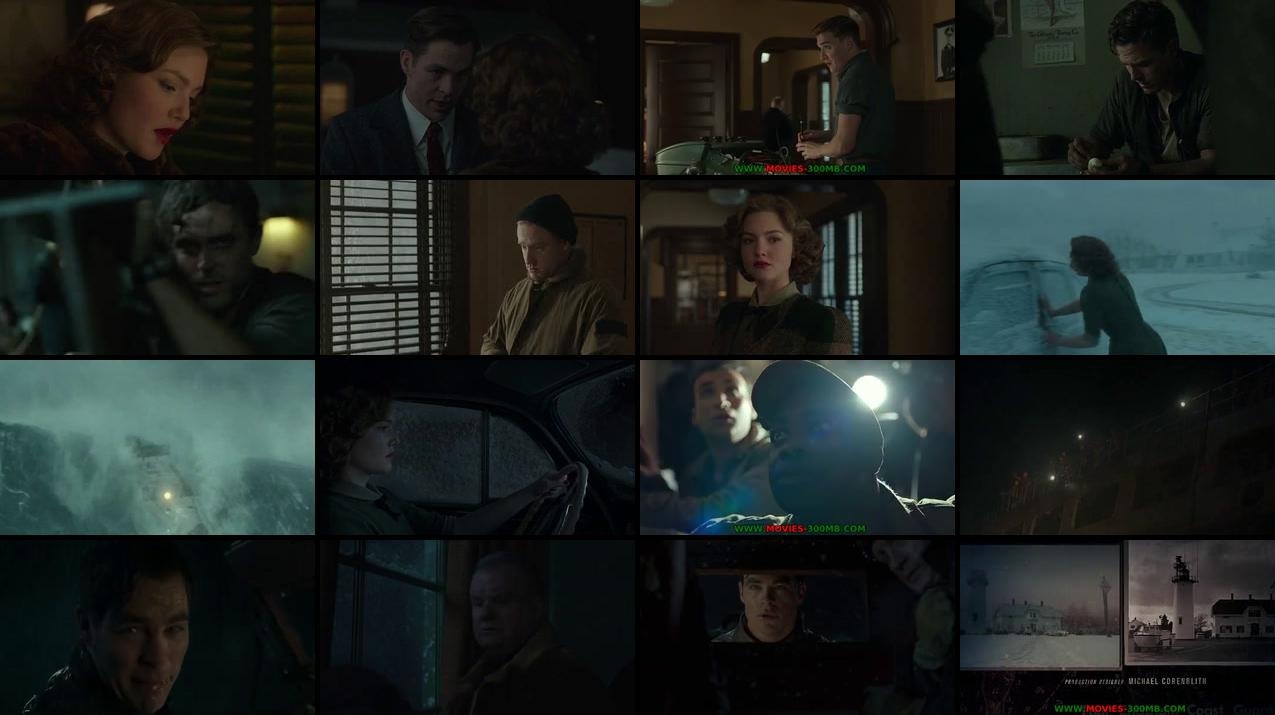 The Finest Hours 2016 DVDRip 400MB