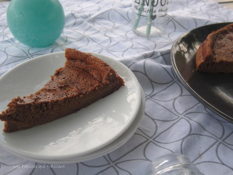 Les papilles qui fr tillent gateau mousseux au chocolat healthy - Gateau au chocolat healthy ...