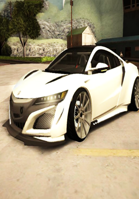 Free Download Acura NSX Forza Ediiton Mod for GTA San Andreas.