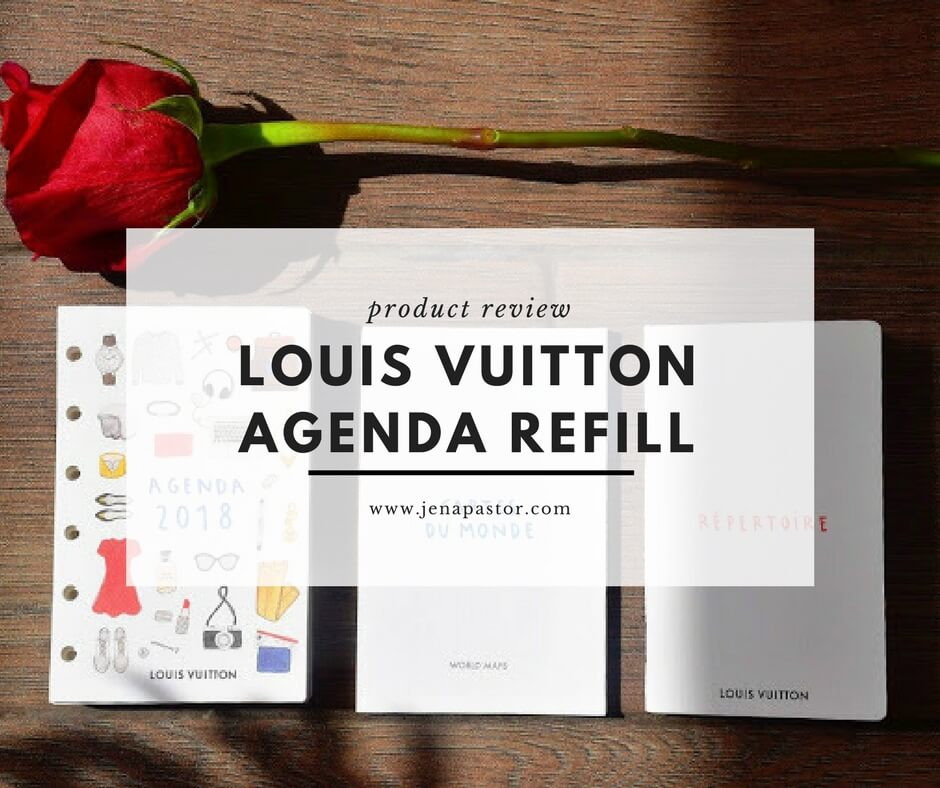 Louis Vuitton diary, maps of the world, directory
