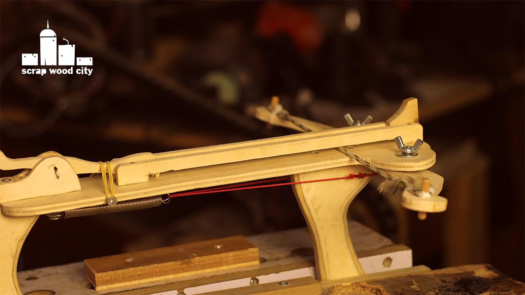 scrap wood city: How to make, a mini DIY crossbow