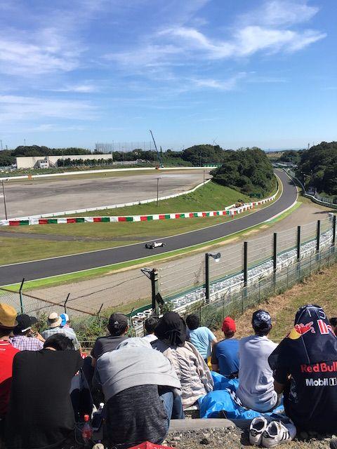 F1日本グランプリ2017 佐藤琢磨によるHonda RA300デモラン