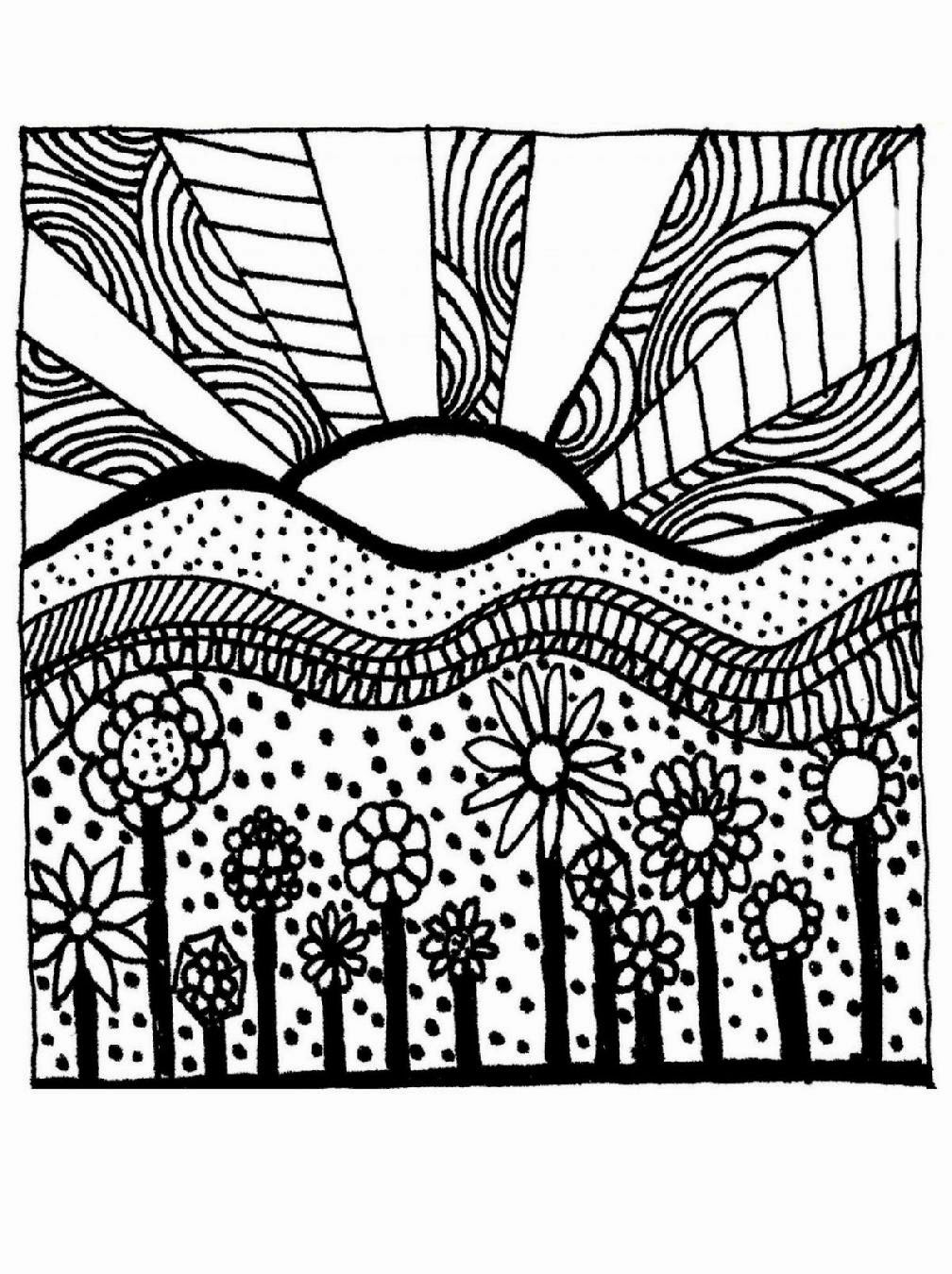 Adult Coloring Sheets | Free Coloring Sheet | free online coloring pages for adults easy