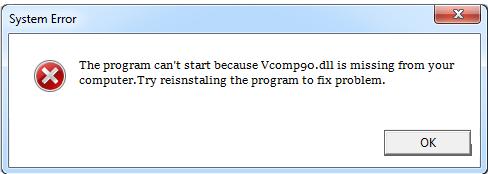 Télécharger Vcomp90.dll Fichier Gratuit Installer