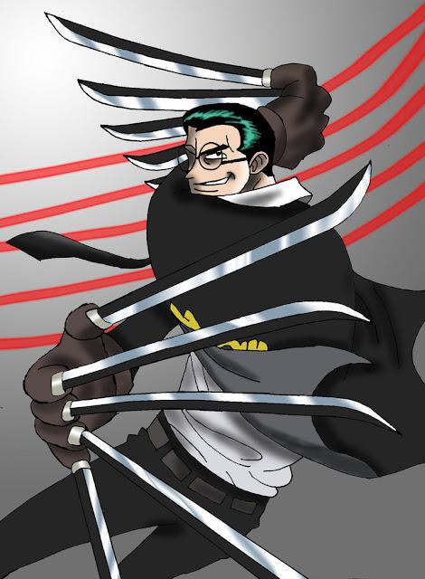 Karakter Anime Yang Bersenjatakan Senjata Anti Mainstream Kapten kuro