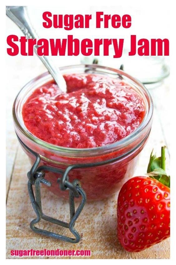Sugar Free Strawberry Jam