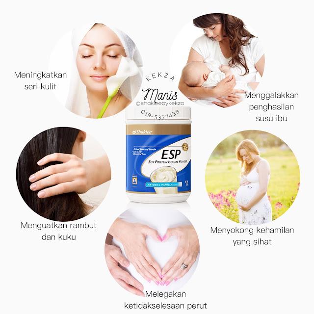 Kebaikan ESP SHAKLEE untuk golongan ibu