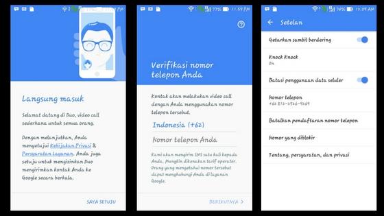 Video call pakai Google Duo, ini cara kerjanya