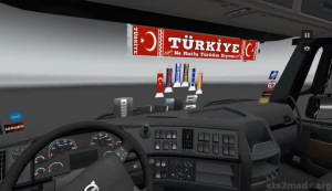 VolvoFH + Interior Turkey Edition