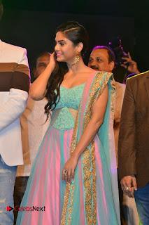 Actress Naina Ganguly Stills in Long Dress at Vangaveeti Audio Launch  0036.JPG